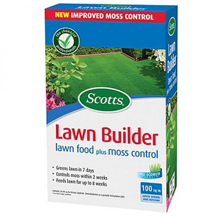 Scotts lawn Builder Moss Control