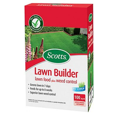 Scotts Lawn Builder with Weed Control