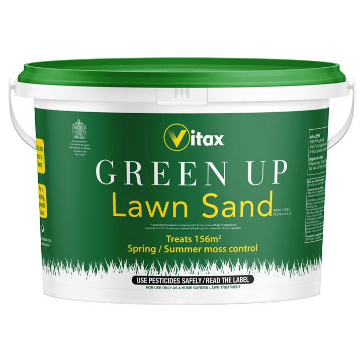 Vitax Green Up Lawn Sand 156 sqm