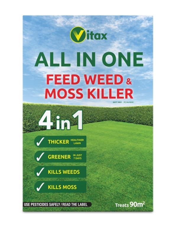 4 in 1 fertiliser 90 sqm